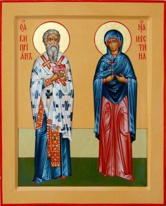 Saint Cyprian of Antioch and Saint Justina