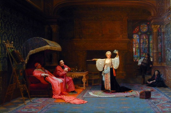 The Fortune Teller by Jehan-Georges Vibert