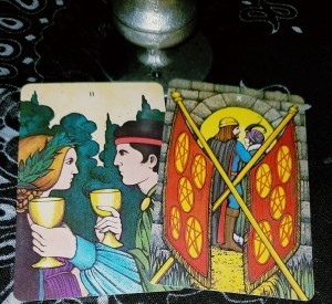 Morgan-Greet Tarot, in a tin