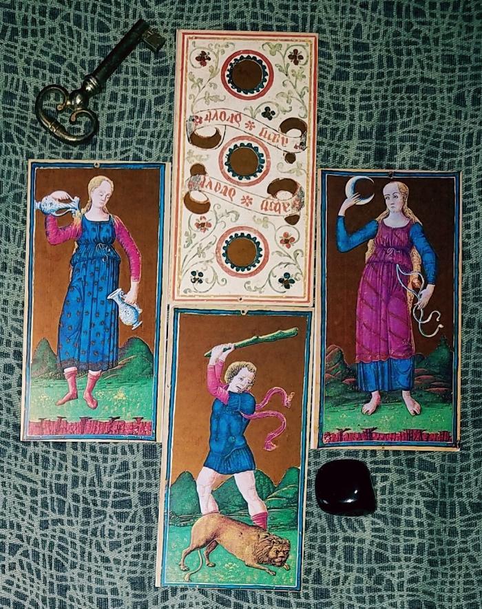 Il Meneghello Visconti Sforza Tarot