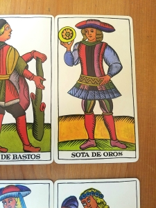 The Spanish Tarot, Marseille Tarot