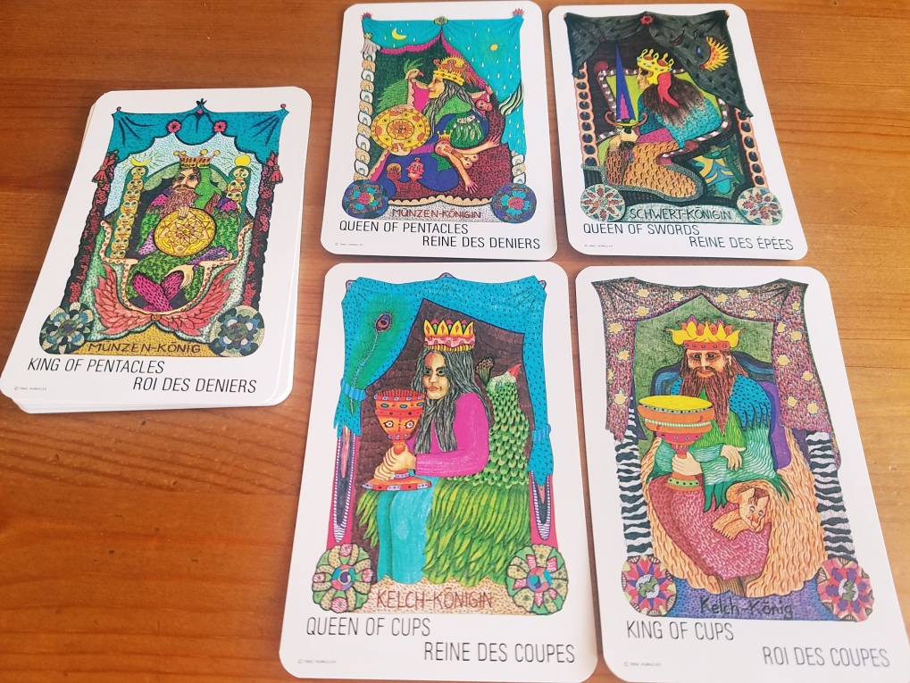 Gypsy Tarot: Tsigane Zigeuner Tarot