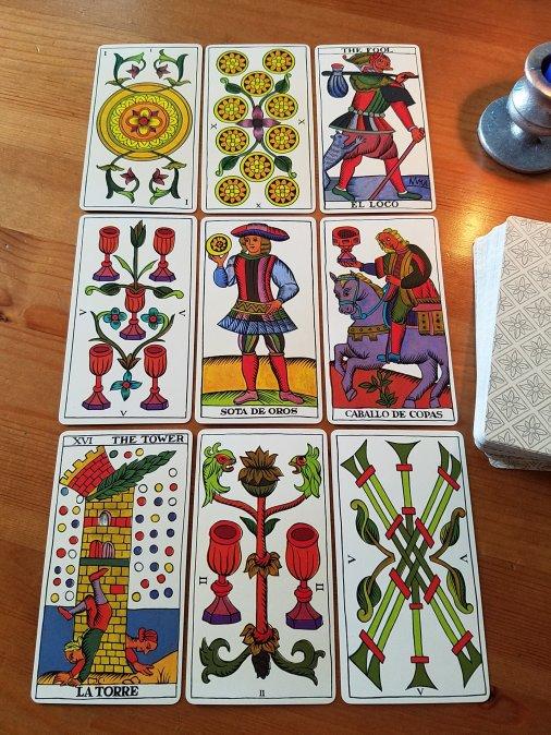 The Spanish Tarot published by Heraclio Fournier, Vitoria, Spain.