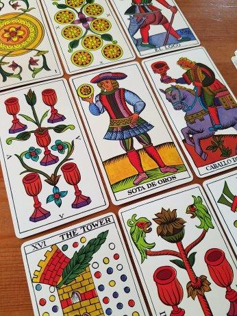 The Spanish Tarot Fournier Marseille Tarot de Marseille