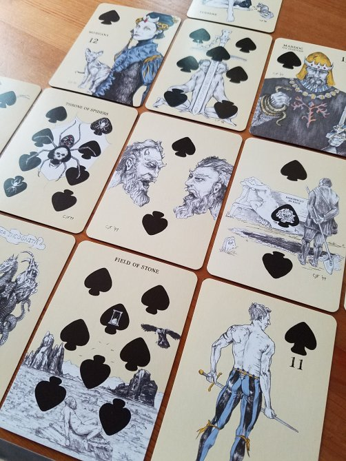 Playing Card Oracles: Divination Deck by Ana Cortez and C.J. Freeman, published by US Games Systems, 2012.