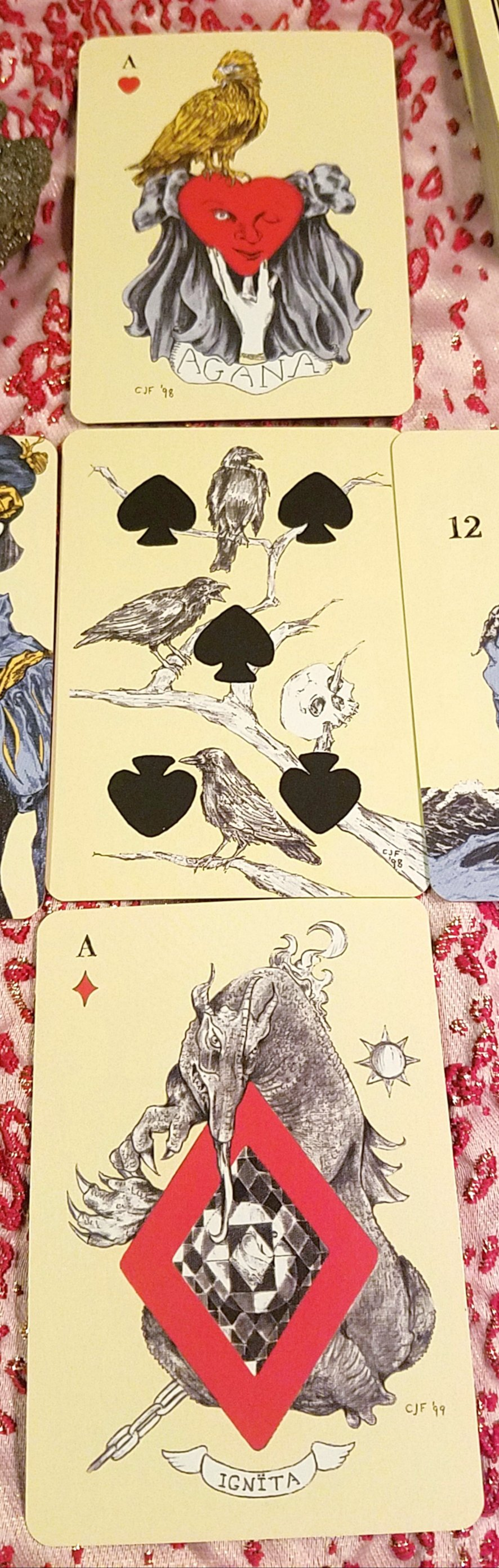 Playing Card Oracles by Ana Cortez