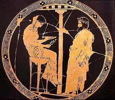 Delphic Oracle Pythia Pythian oracle Delphi