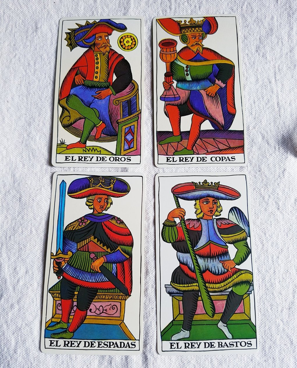 The court of kings The Spanish Tarot