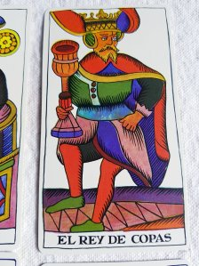 King of cup The spanish Tarot