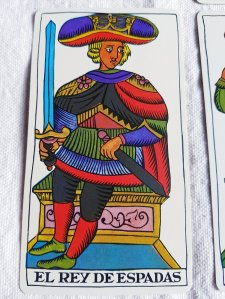 The King of Swords The Spanish Tarot