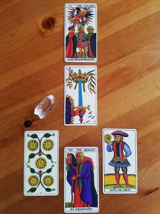 The spanish tarot fournier tarot decks spain