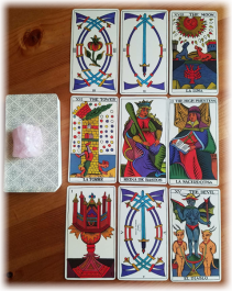The Spanish Tarot Fournier tarot reading