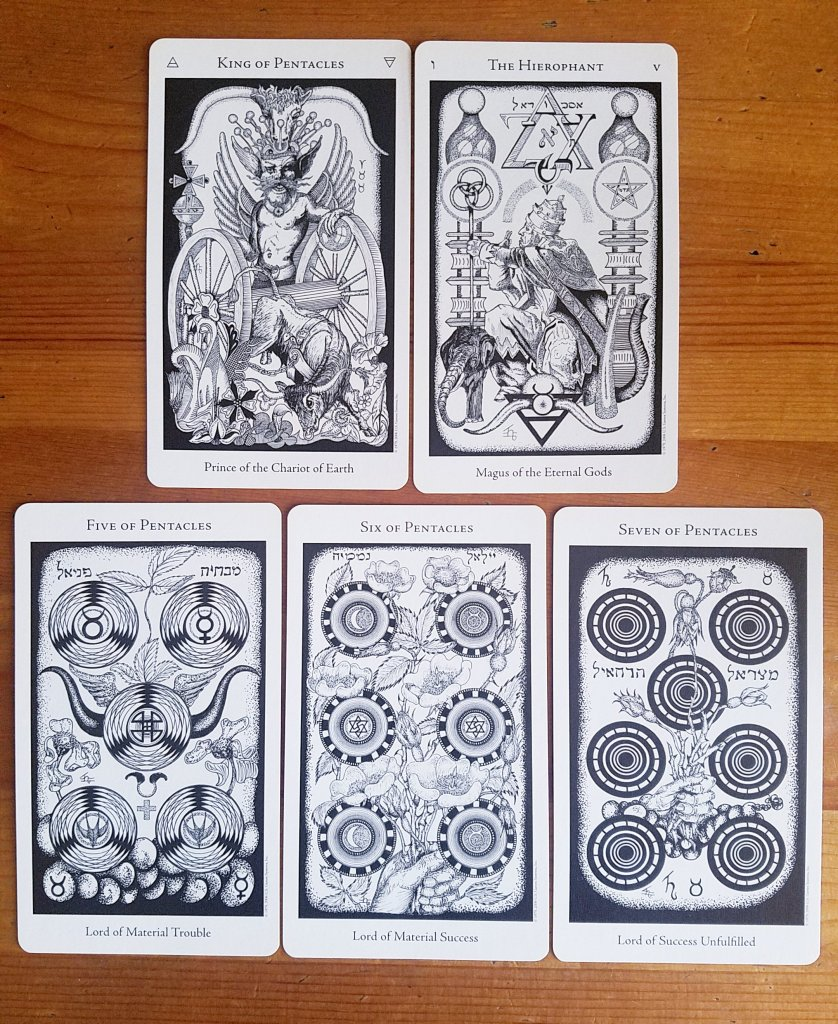 The hermetic tarot us games