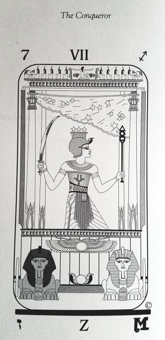 Brotherhood of LIght Egyptian Tarot, designed by Vicki Brewer, created by The Church of Light, US Games Systems, 2009.