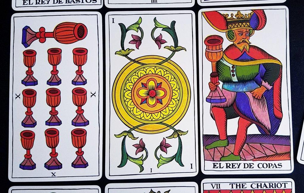 the spanish tarot fournier tarot de marseille