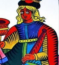 Queen of cups spanish tarot heraclio fournier marseille tarot