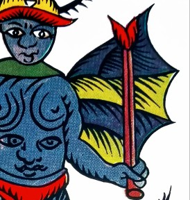 The Devil, The Spanish Tarot published by Fournier, Spain.
