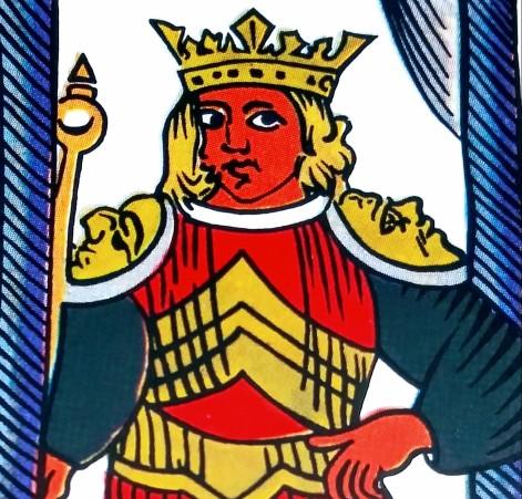 The Chariot Spanish Tarot Fournier Marseille Tarot