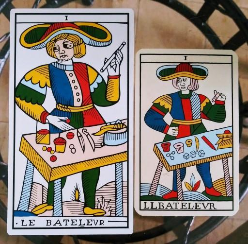 The magician, the cobbler, le bateleur marseille tarot jean dodal jean noblet
