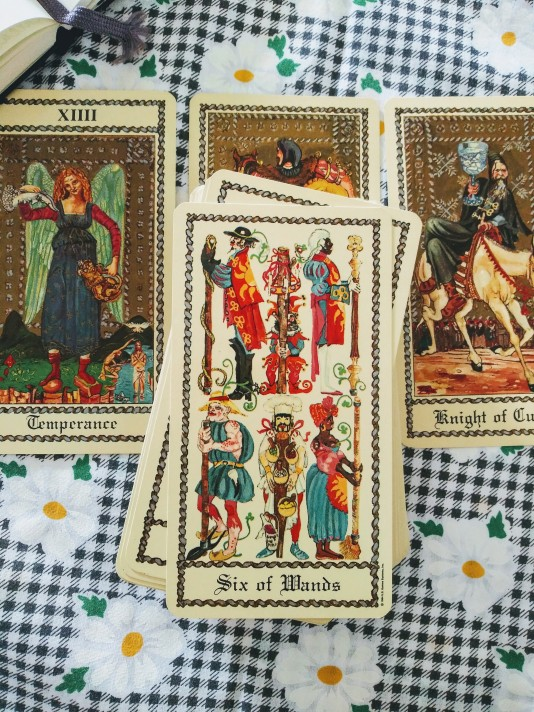 The Medieval Scapini Tarot, Luigi Scapini, published by US Games Systems, 2005.